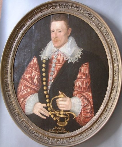 P1: Andrew, 5th Earl of Rothes (c. 1530 – 1611)