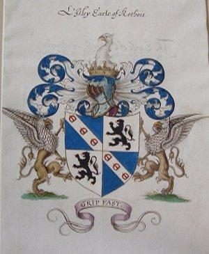 B9. Arms of Lisley Earle of Rothois