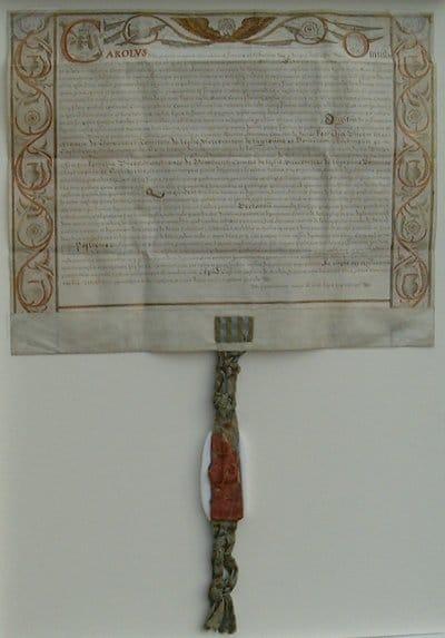 B4. The Duke's Charter 1680.