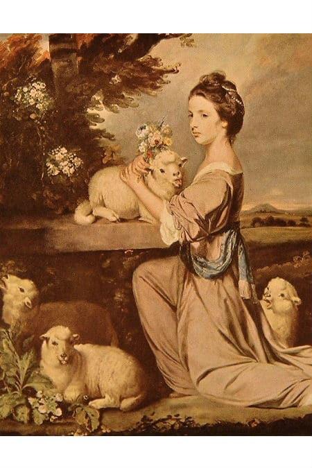 E7 & E7a.  Lady Mary Leslie.